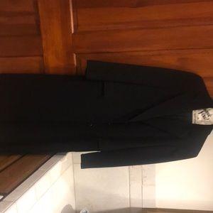 Burberry Black Wool Coat